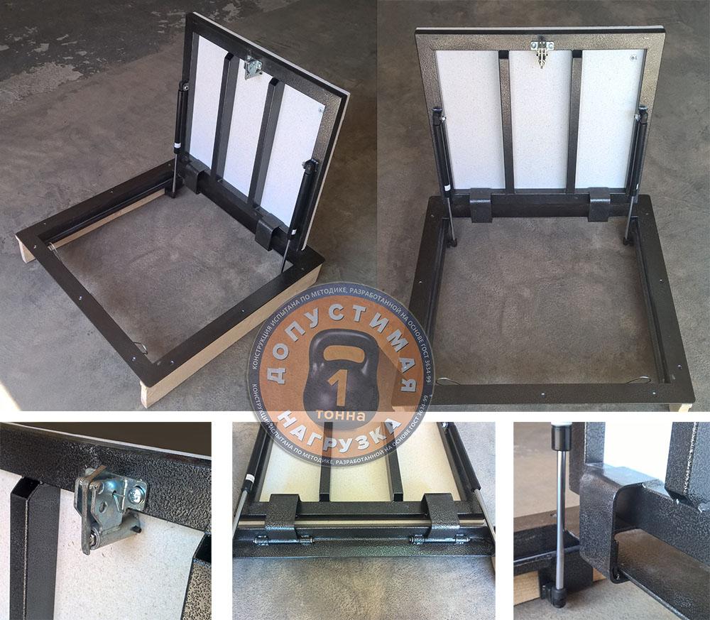 изготовление и установка напольных люков в подвал